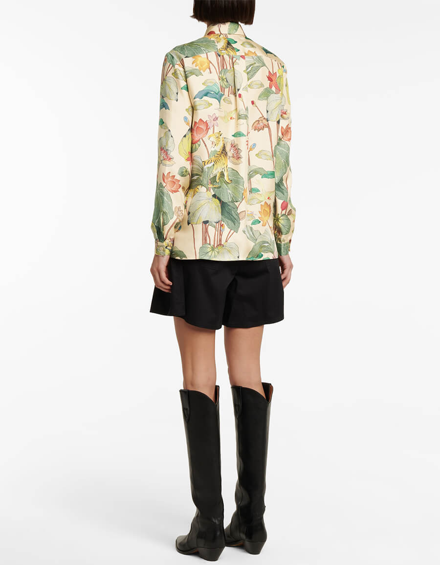 ETRO Floral silk shirt