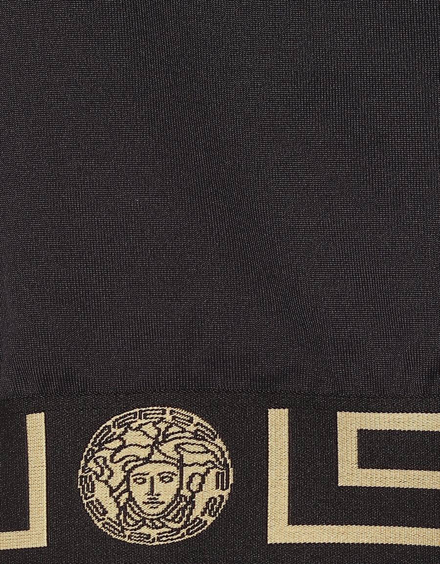 VERSACE Greca cotton blend jacket