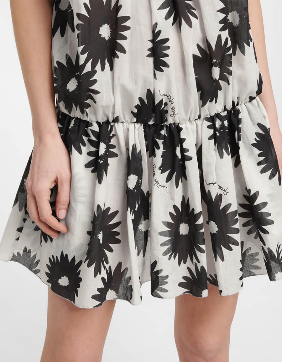 STELLA MCCARTNEY Linda floral cotton voile minidress