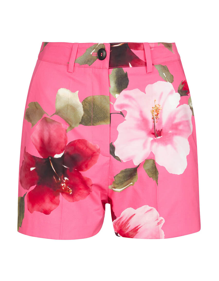 VALENTINO Valentino floral cotton shorts