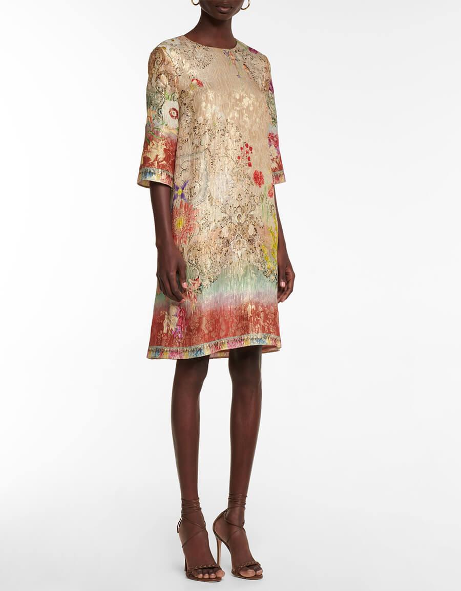 ETRO Brocade midi dress
