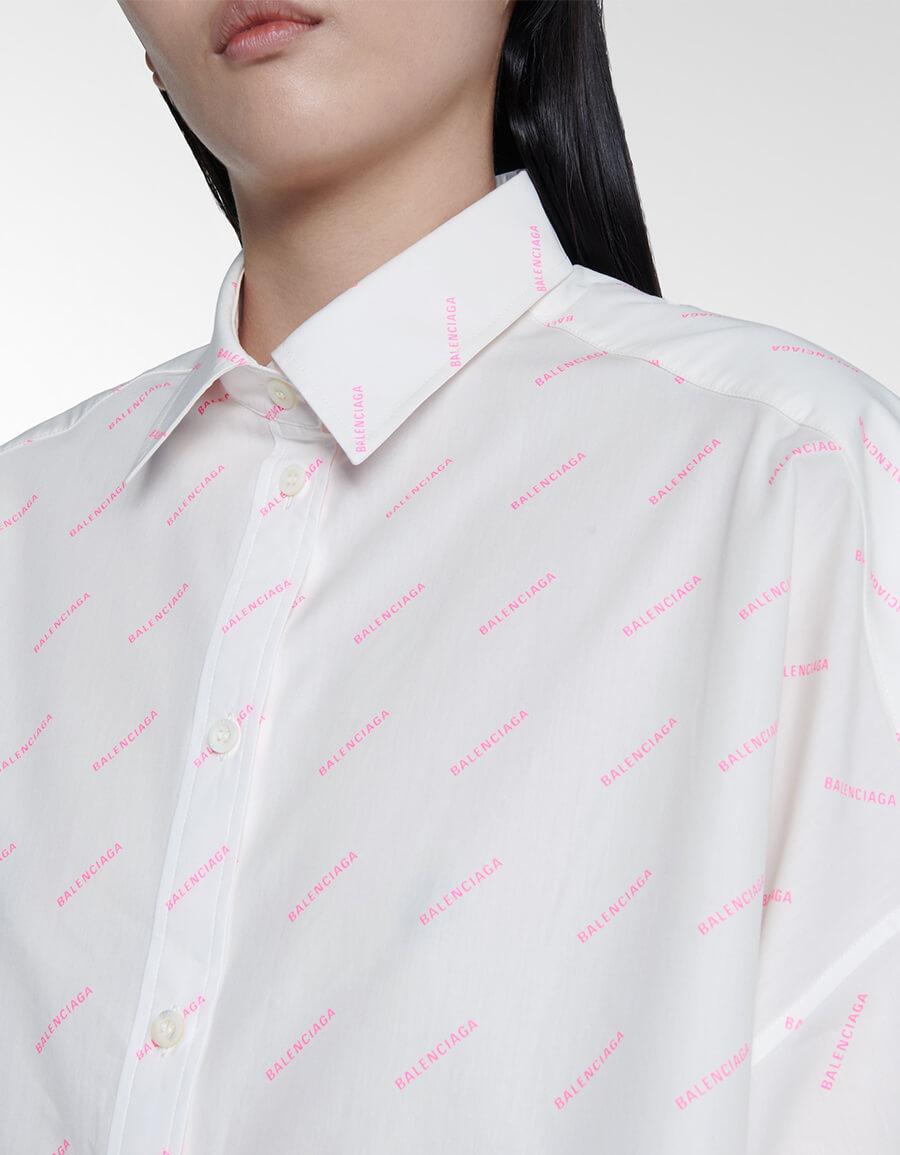BALENCIAGA Logo cotton shirt