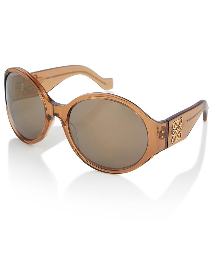 LOEWE Anagram round sunglasses