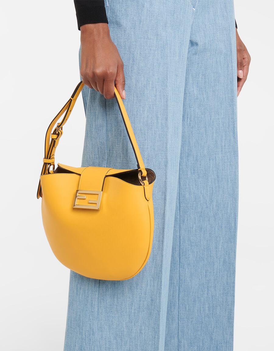 FENDI Croissant Small leather shoulder bag