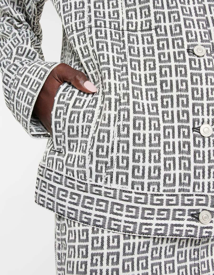 GIVENCHY 4G jacquard jacket