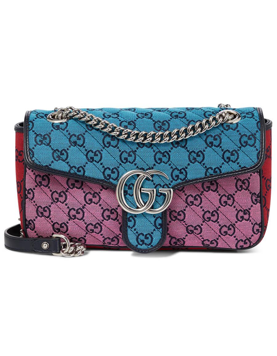 GUCCI GG Marmont Small jacquard shoulder bag