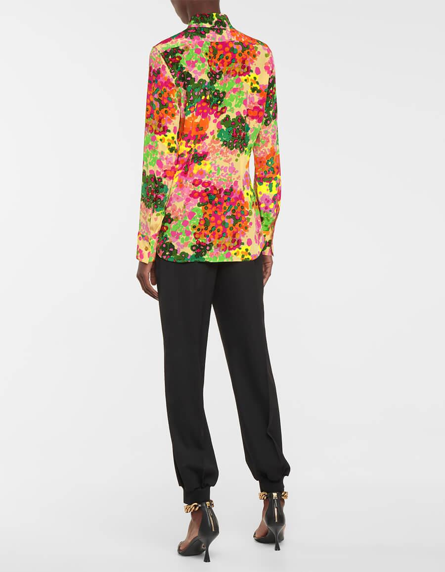 STELLA MCCARTNEY Willow floral silk shirt