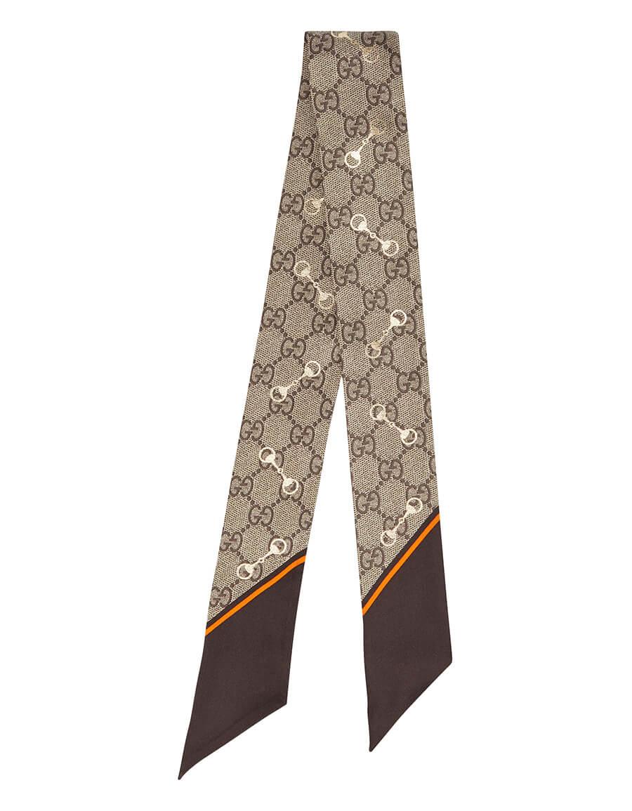 GUCCI GG silk scarf