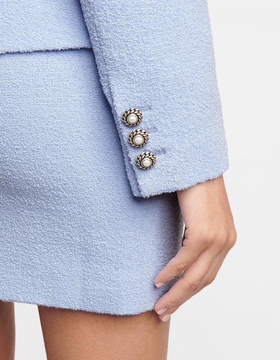 ALESSANDRA RICH Wool blend jacket