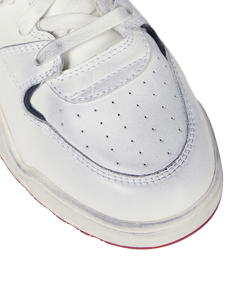 ISABEL MARANT Leather sneakers