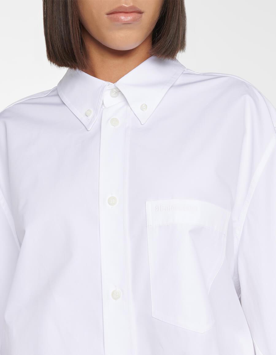 BALENCIAGA Cotton poplin shirt