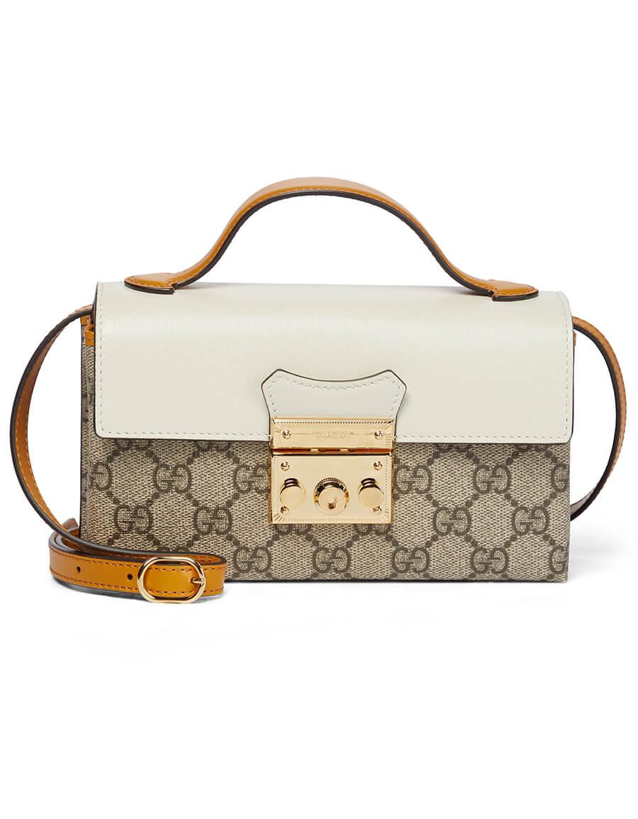 GUCCI Padlock GG Mini shoulder bag