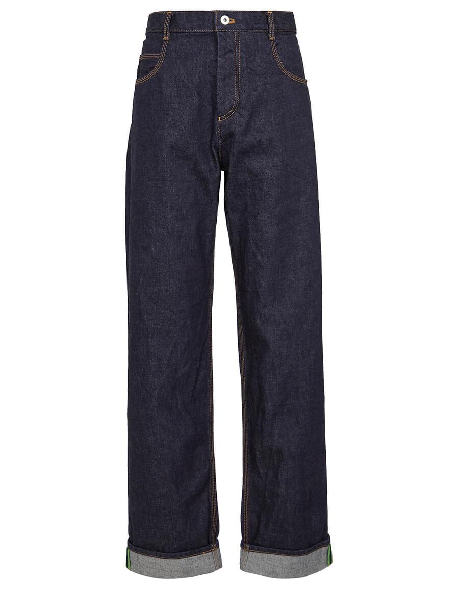 BOTTEGA VENETA Mid rise straight jeans