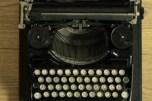 typemachine bovenaf