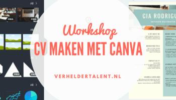 workshop cv maken Workshop CV maken   Locatie Alkmaar | Verhelder Talent