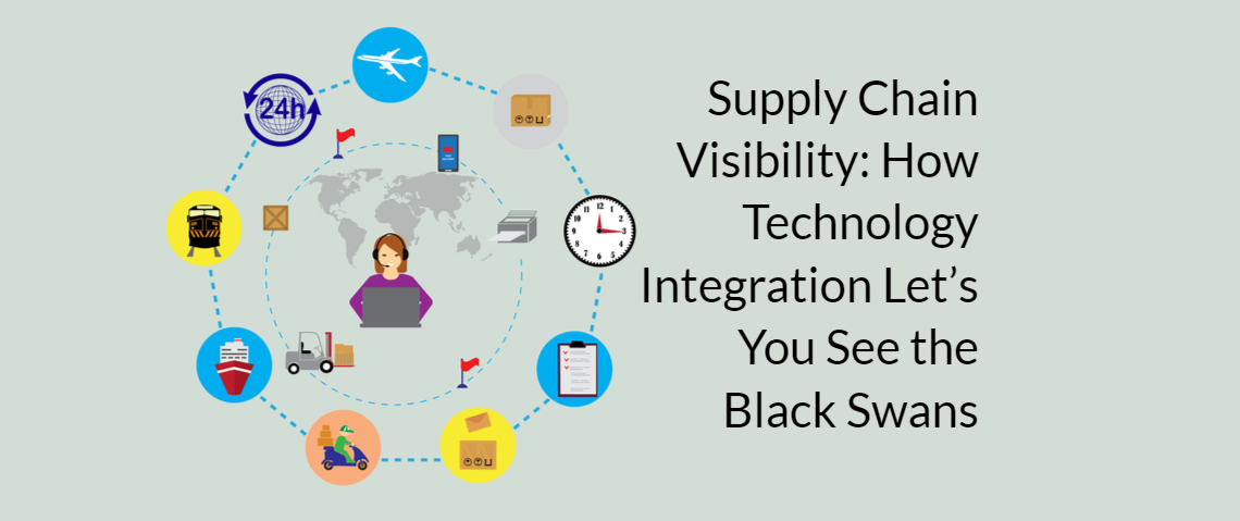 Supply Chain Visibility: How Technology Integration Let's You See the Black Swans