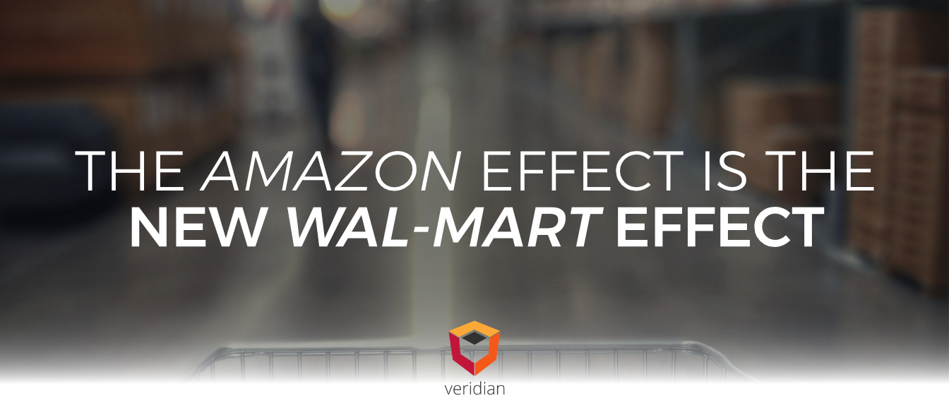 The Amazon Effect is the New Wal-Mart Effect