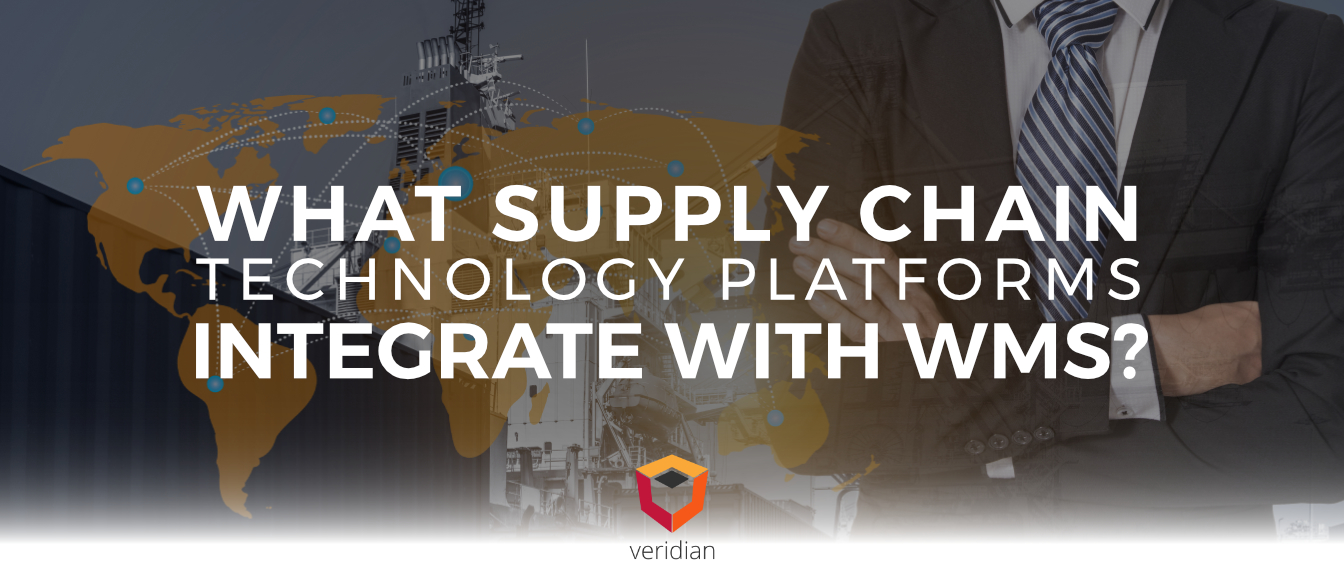 What Supply Chain Technology Platforms Integrate With WMS? Part 1