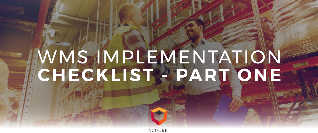 A WMS Implementation Checklist Part I
