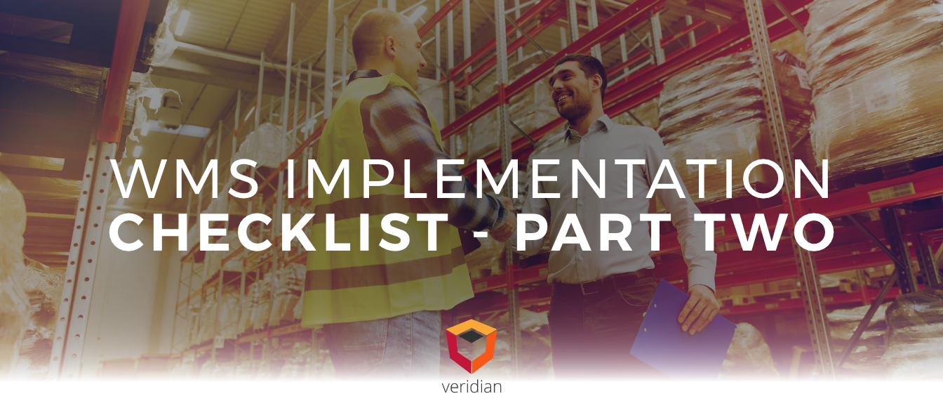 A WMS Implementation Checklist Part II
