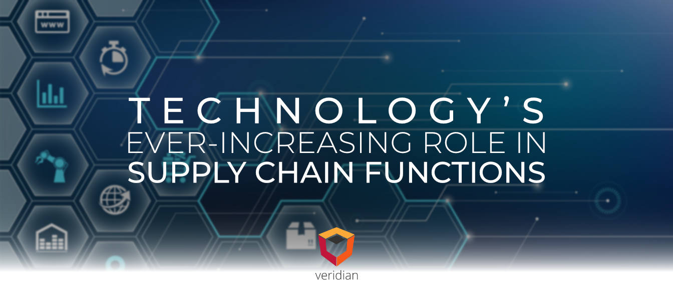 Technology's Ever-increasing Role in Supply Chain Functions