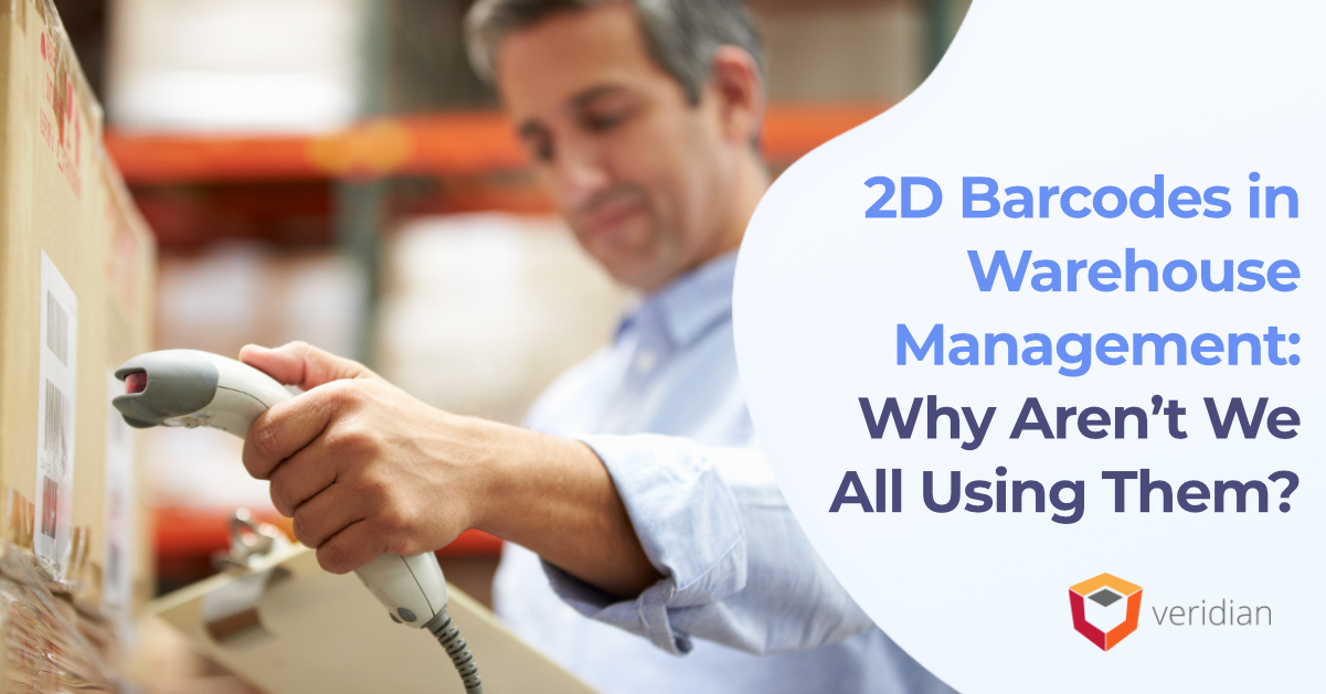 2D Barcodes in Warehouse Management: Why Aren't We All Using Them?