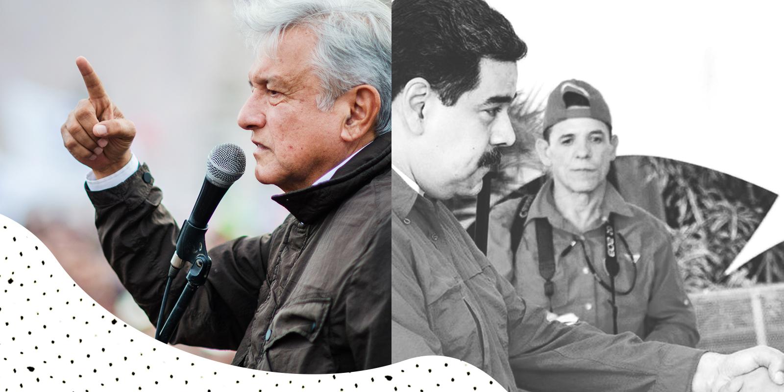 Nicolás Maduro, ¿detrás de la campaña de AMLO?