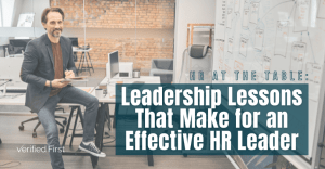 Leadership Lessons That Make for an Effective HR Leader