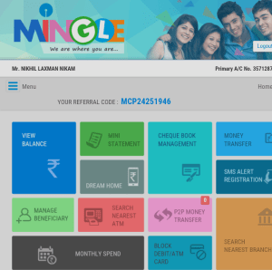 Sbi Mingle app Referral Code