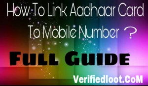 How To Link Aadhaar Card To Mobile Number To Continue the Services