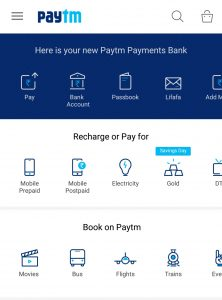 Paytm Payment Bank Account Atm Card