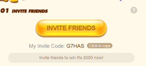 Uc Browser Invite Code [ X47SH] Earn rs 5000 By Referring Friends