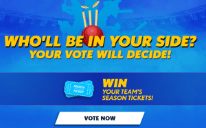 IPL Election se Selection 2018 Win Free IPL Match Tickets Vote Now