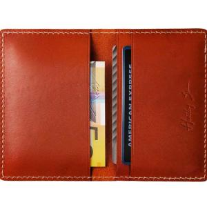 Slim Bi Fold Bagan Leather Wallet by Hentley