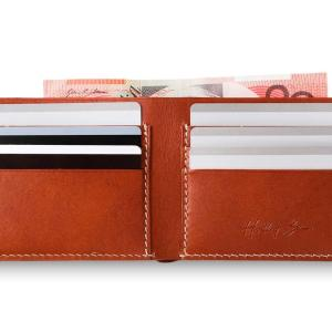 Manhattan Leather Wallet Handmade Classic Limited Series