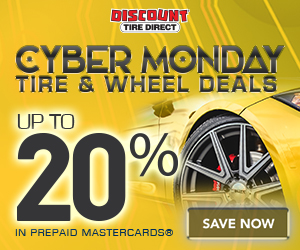 Cyber Monday Tire & Wheel Deals. Ge up to 20% in Total Rebates on Tires and Wheels