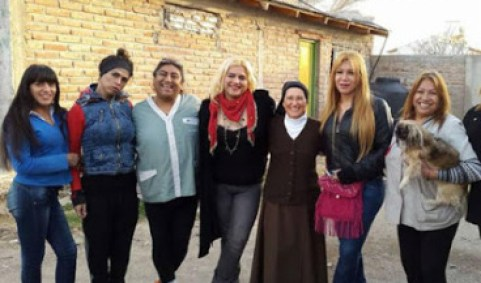 Sister Monica with Transsexuals is supported by Pope Francis