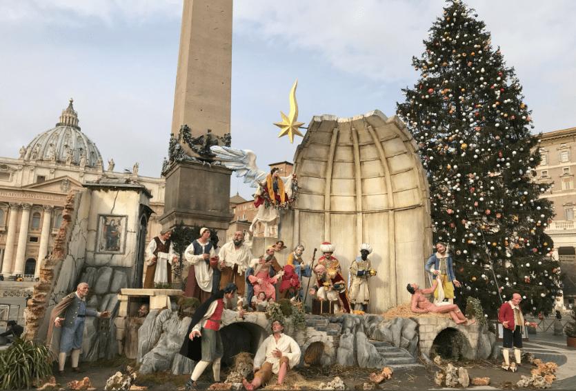 Vatican Nativity Scene 2017