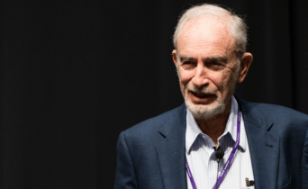 "Dr. Paul Ehrlich (right) was invited by the Vatican to speak in a conference called ""Biological Extinction"". Ehrlich is best known for his radical call to reduce the world's population from 7 billion to 1.5 billion. He is the recognised father of the global pro-abortion and population control movement."