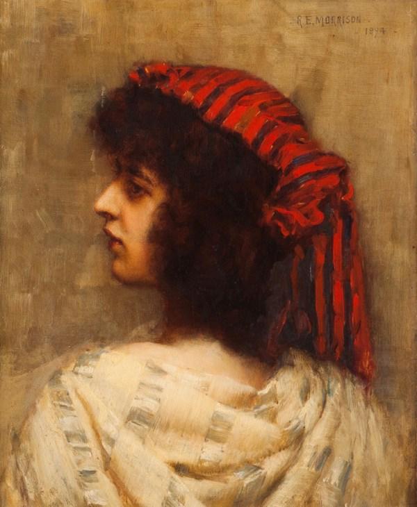 Auction 70 Lot 411 - Lady' Portrait Veritas Art
