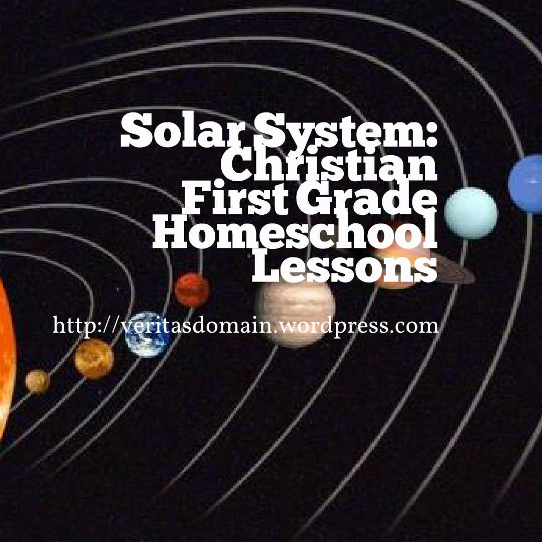 Announcement Solar System First Grade Homeschool Lessons