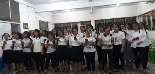 Mahasiswi Asrama Gelar Malam Rekreasi Terpimpin