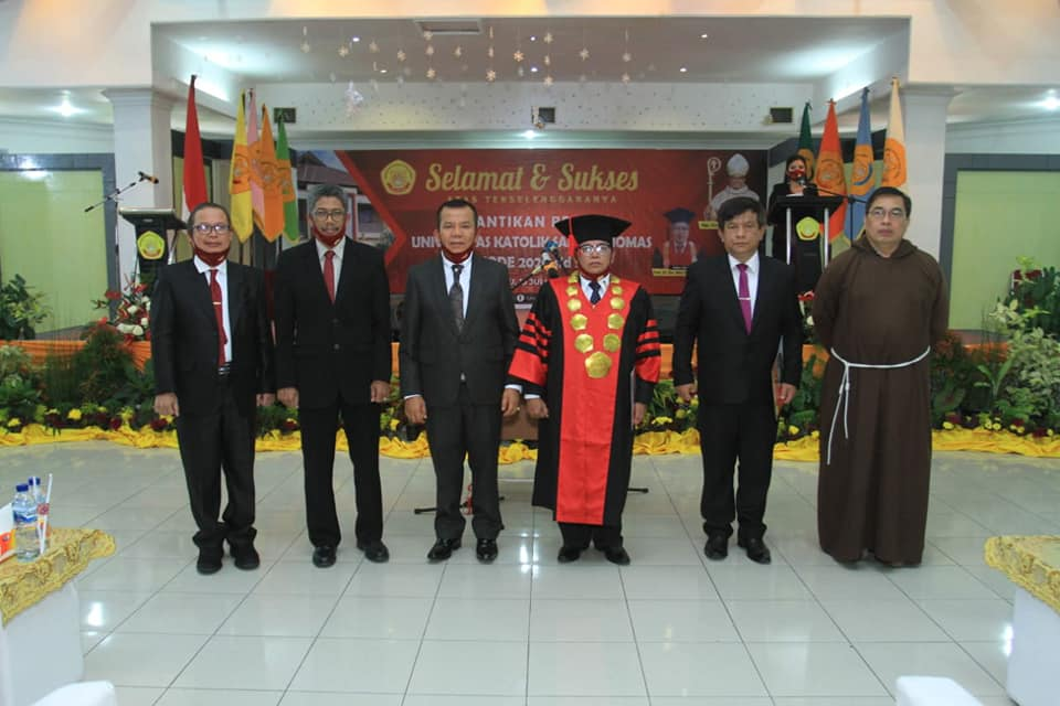 Rektor Unika Santo Thomas Medan Dilantik, Kepala LLDikti Wilayah 1 Sumatera Utara Berharap Perjuangkan Akreditasi A