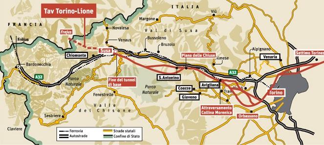 Dimezzati i costi della Torino-Lione: project review anche sulla tratta nazionale