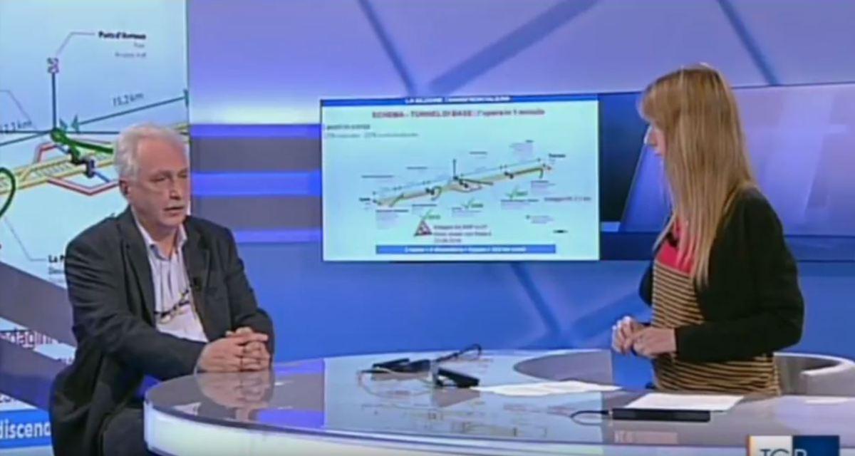 Intervista di Paolo Foietta, Commissario straordinario del Governo per l'asse ferroviario Torino - Lione al TGR Piemonte.
