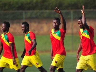 Des joueurs du Syli national local (Image d'illustration)