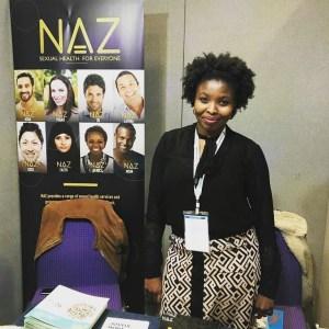 Aicha Kallo dans le cabinet Naz Project à Londres