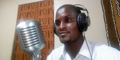 Le journaliste Ibrahima Sory Barry