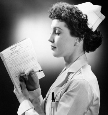 A Nurse's Meditations in the Sluice Room (Louise McKenna)