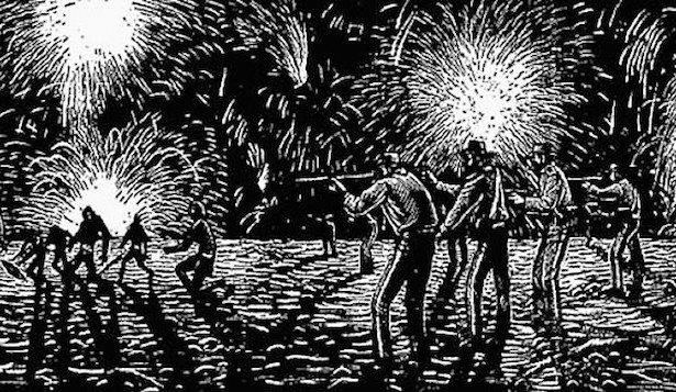 The Black War Thesis  (David Thomas Henry Wright)